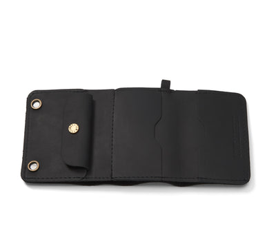 LOWELL // n. 100 NEWPORT BLACK | WALLET at LOWELL MTL