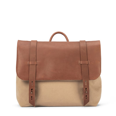 LOWELL // DEZERY DUCK BEIGE / TAN | BAGS at LOWELL MTL