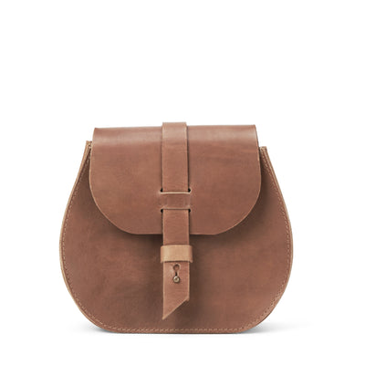 LOWELL // SAINT-GERMAIN OUTLAW LEATHER PETIT TAN | BAGS at LOWELL MTL