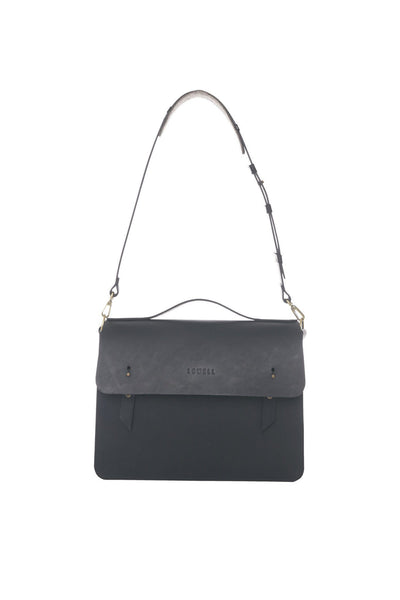 LOWELL // MCGILL LEATHER BLACK | BAGS at LOWELL MTL