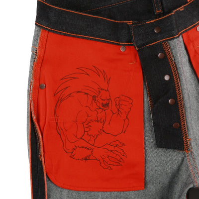 "BLANKA ""ELECTRIC SURGE"" SELVEDGE"