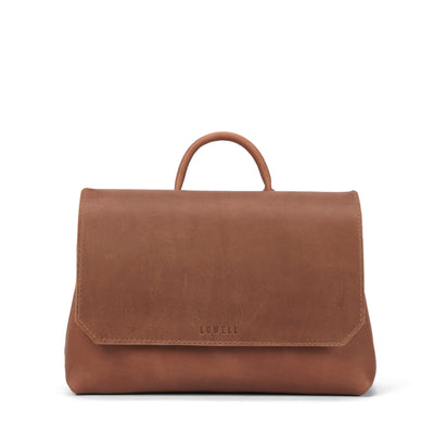 LOWELL // LANGELIER OUTLAW LEATHER TAN | BAGS at LOWELL MTL