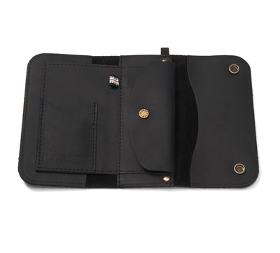 LOWELL // n. 103 NEWPORT BLACK | WALLET at LOWELL MTL