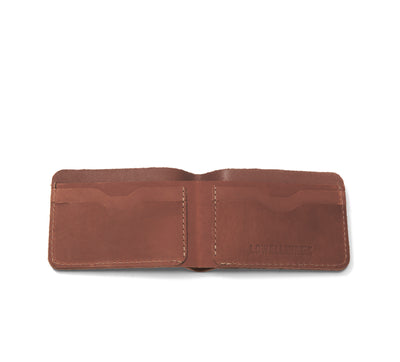 LOWELL // n. 102 OUTLAW TAN | WALLET at LOWELL MTL
