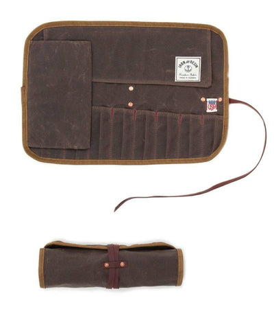 IRON AND RESIN // TOOL ROLL Oak Brown | Default at LOWELL MTL