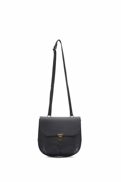 LOWELL // PARTHENAIS LEATHER BLACK | BAGS at LOWELL MTL