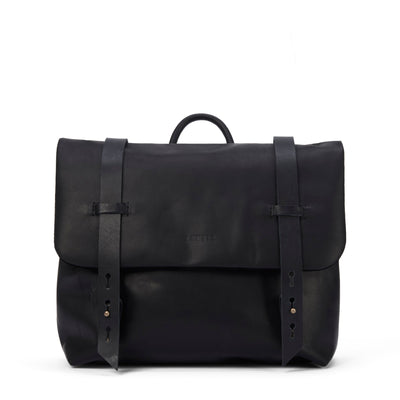 LOWELL // DEZERY NAPPA LEATHER BLACK | BAGS at LOWELL MTL