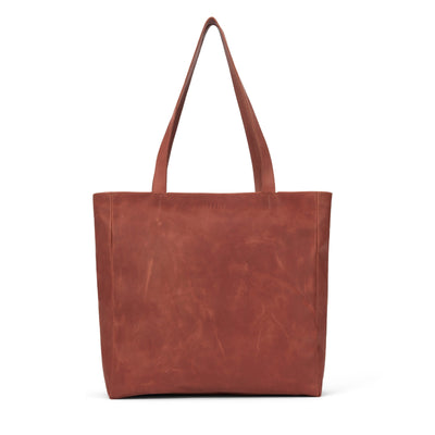 LOWELL // MAISONNEUVE NAPPA LEATHER COGNAC | BAGS at LOWELL MTL