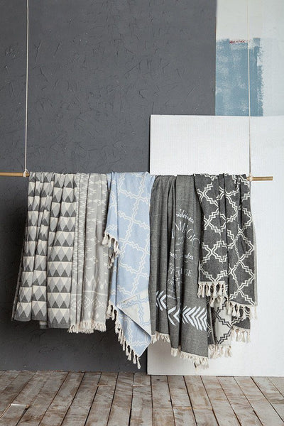 TAMA TOWELS // MOROCCON THROW  | HOME at LOWELL MTL