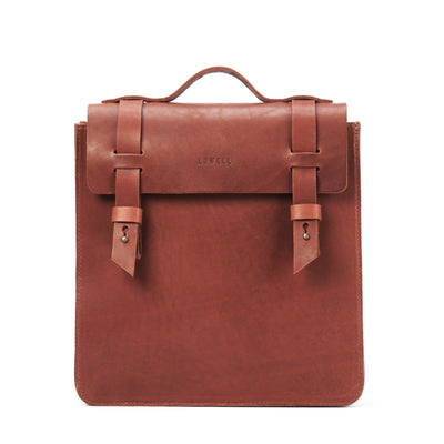 LOWELL // VAN HORNE OUTLAW LEATHER COGNAC | BAGS at LOWELL MTL