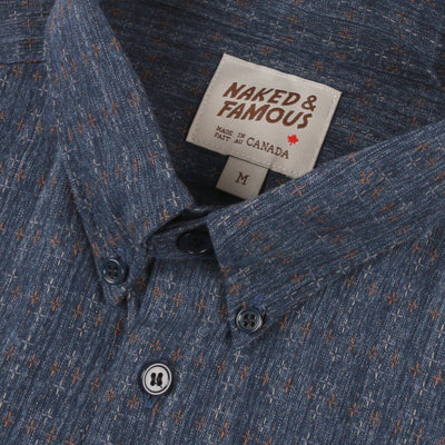 Easy Shirt Traditional Sashiko Micro