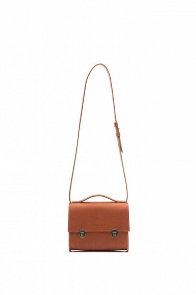 LOWELL // SAINT-PAUL LEATHER COGNAC | BAGS at LOWELL MTL
