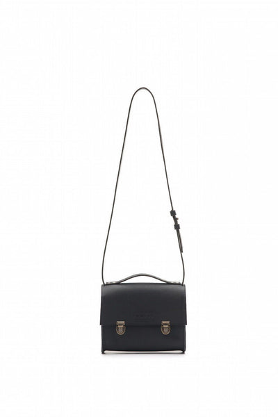 LOWELL // SAINT-PAUL LEATHER BLACK | BAGS at LOWELL MTL