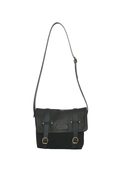 LOWELL // SIMONE COTTON BLACK | BAGS at LOWELL MTL