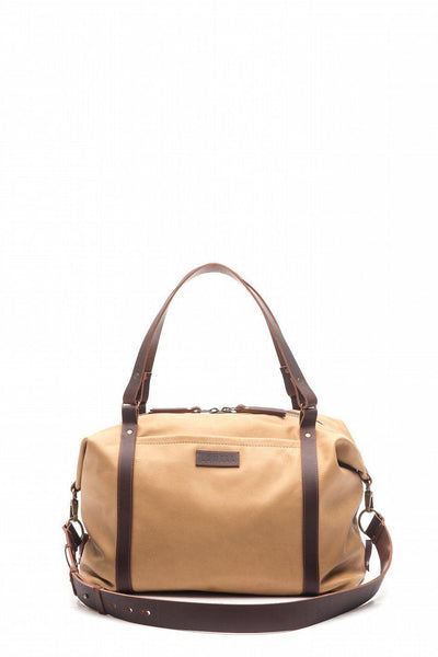 LOWELL // SAINT-MATHIEU LEATHER TAN | BAGS at LOWELL MTL
