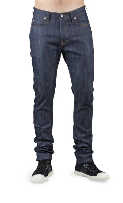 NAKED AND FAMOUS // INDIGO POWER STRETCH  | JEANS at LOWELL MTL