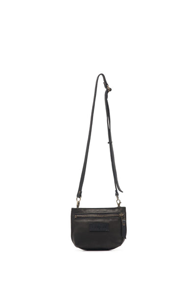 LOWELL // SAINTE-CATHERINE LEATHER BLACK / BLACK | BAGS at LOWELL MTL