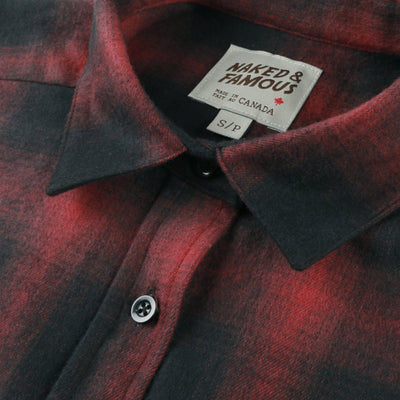 Easy Shirt Brushed Ombre Flannel