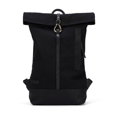 LOWELL // WAVERLY DUCK BLACK / BLACK | BAGS at LOWELL MTL