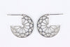 MEDALLION CUFF EARRINGS