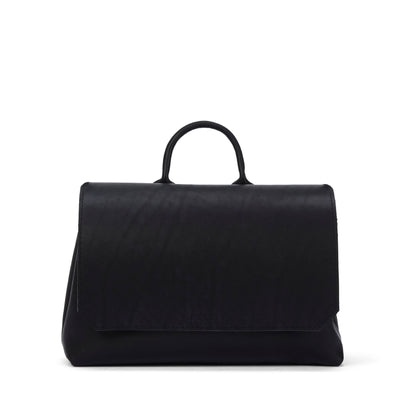 LOWELL // LANGELIER OUTLAW LEATHER BLACK | BAGS at LOWELL MTL