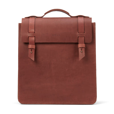 LOWELL // SAINT-ZOTIQUE OUTLAW LEATHER COGNAC | BAGS at LOWELL MTL