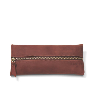LOWELL // n. 204 NAPPA COGNAC | POUCH at LOWELL MTL