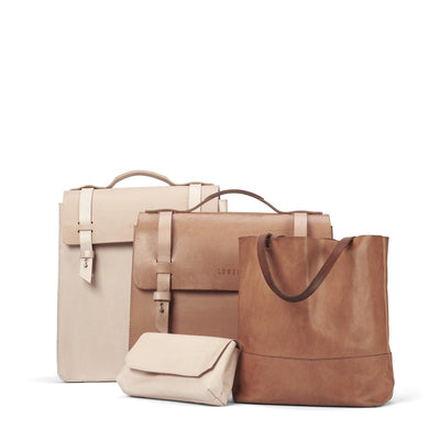 LOWELL // SAINT-JACQUES VEGGIE TANNED LEATHER  | BAGS at LOWELL MTL