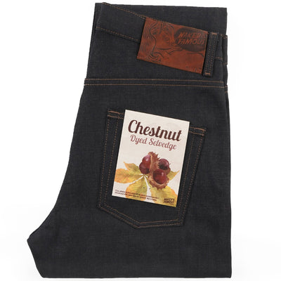 CHESTNUT DYED SELVEDGE