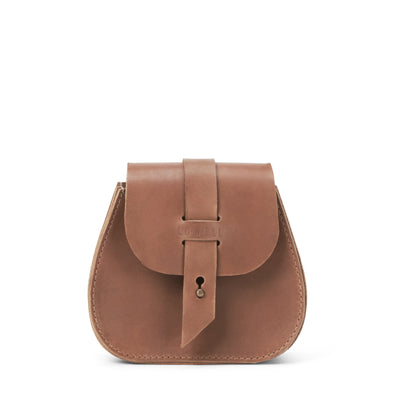 LOWELL // SAINT-GERMAIN OUTLAW LEATHER MINI TAN | BAGS at LOWELL MTL