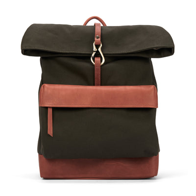 LOWELL // MONT-ROYAL DUCK KHAKI / COGNAC | BAGS at LOWELL MTL