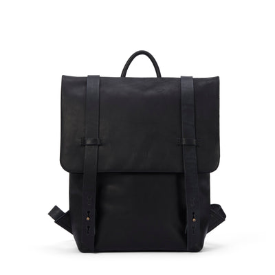 LOWELL // FAIRMOUNT NAPPA LEATHER BLACK | BAGS at LOWELL MTL