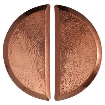 SERTODO COPPER // ALEPPO HALF MOON PLATTER  | BARWARE at LOWELL MTL