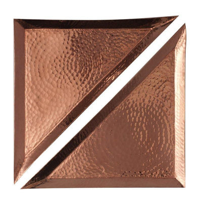 SERTODO COPPER // ALEPPO TRIANGLE PLATTER  | BARWARE at LOWELL MTL