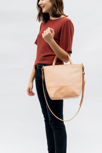 LOWELL // ATWATER OUTLAW LEATHER PETIT  | BAGS at LOWELL MTL