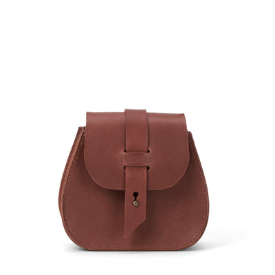 LOWELL // SAINT-GERMAIN OUTLAW LEATHER MINI COGNAC | BAGS at LOWELL MTL