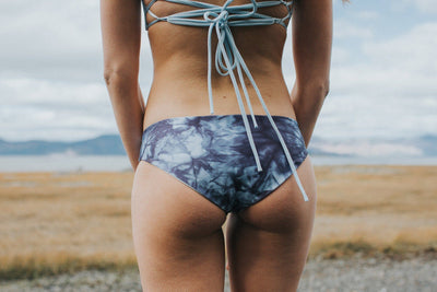 OTHERSEA // BEAU-BETTE BOTTOM TIE DYE BLUE  | MAILLOT / SWIMWEAR at LOWELL MTL