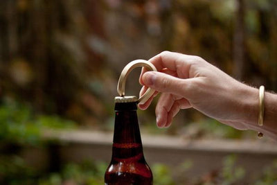 CRAIGHILL // BRASS TROPHY BOTTLE OPENER  | BARWARE at LOWELL MTL