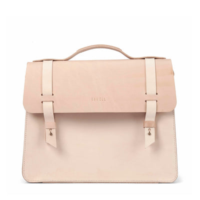 LOWELL // MCGILL VEGGIE TANNED LEATHER NUDE | BAGS at LOWELL MTL