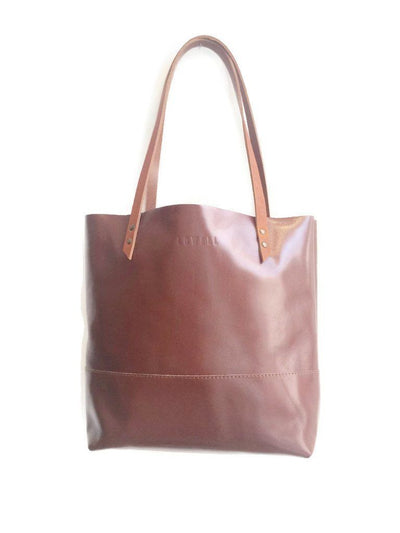LOWELL // MEXICO LEATHER COGNAC | BAGS at LOWELL MTL
