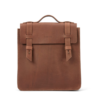 LOWELL // VAN HORNE OUTLAW LEATHER TAN | BAGS at LOWELL MTL