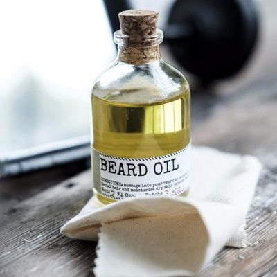 MEN'S SOCIETY // BEARD OIL AND FACE RAG  | COSMÉTIQUES / COSMETICS at LOWELL MTL