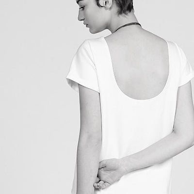 ELISA C-ROSSOW // T6 WHITE | T-SHIRTS at LOWELL MTL