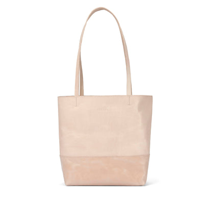 LOWELL // JEAN-TALON VEGGIE TANNED LEATHER NUDE | BAGS at LOWELL MTL