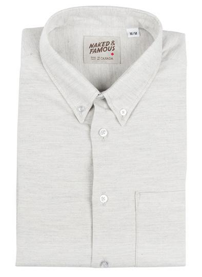 NAKED AND FAMOUS // REGULAR SHIRT SOFT YARN DYED TWILL  | SHIRTS at LOWELL MTL