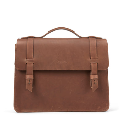 LOWELL // MCGILL OUTLAW LEATHER TAN | BAGS at LOWELL MTL