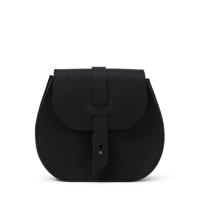 LOWELL // SAINT-GERMAIN OUTLAW LEATHER PETIT BLACK | BAGS at LOWELL MTL