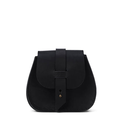 LOWELL // SAINT-GERMAIN OUTLAW LEATHER MINI BLACK | BAGS at LOWELL MTL
