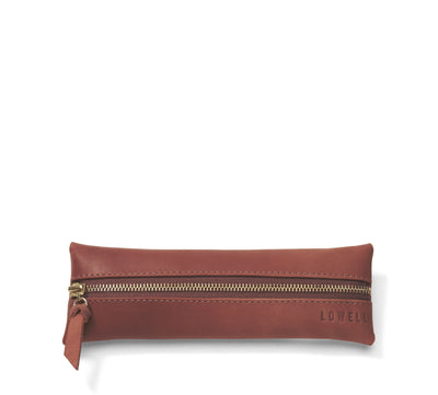 LOWELL // n. 203 NAPPA COGNAC | POUCH at LOWELL MTL