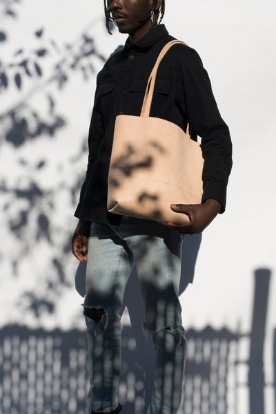 LOWELL // JEAN-TALON VEGGIE TANNED LEATHER  | BAGS at LOWELL MTL